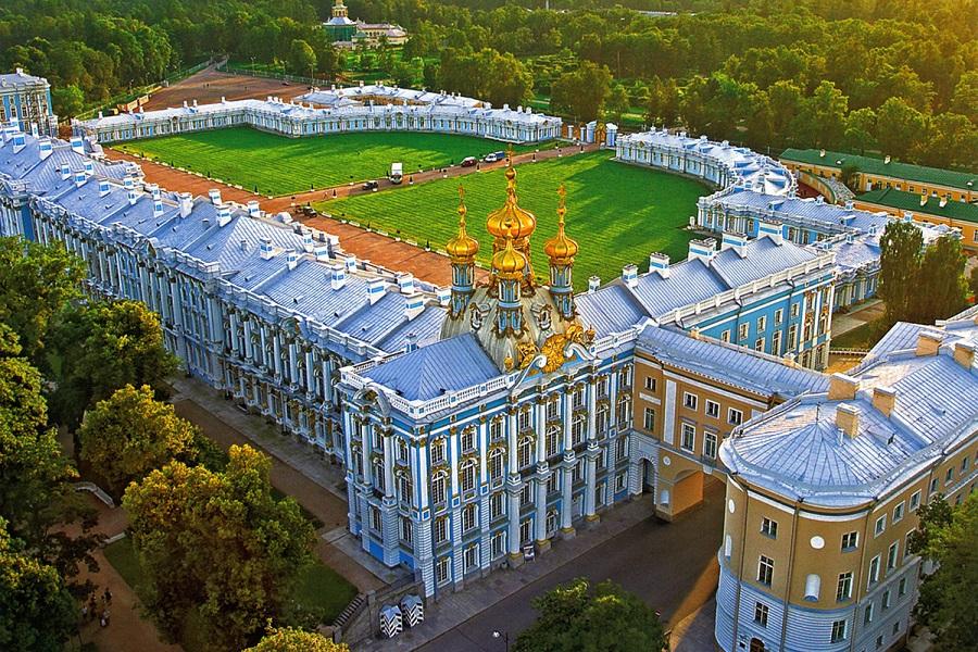 Императорская резиденция в Санкт-Петербурге